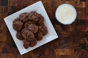 chocolately cookies